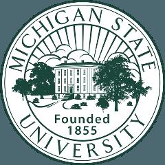 密歇根州立大学 logo