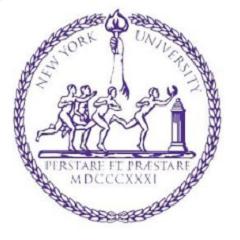 纽约大学 logo